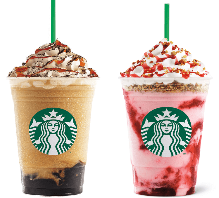 Caramel Coffee Jelly Frappuccino Blended Beverage