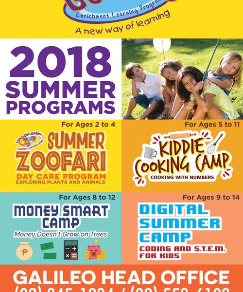 Galileo Summer Programs 2018