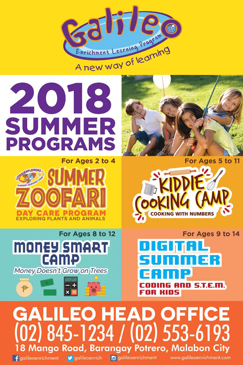 Galileo Summer Programs 2018
