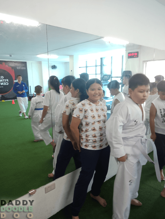 Purple's Taekwondo Summer Activity