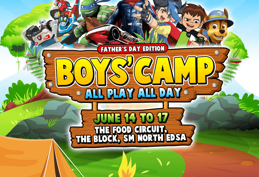 Fun Weekend with Dad: Play All Day at Boys' Camp!