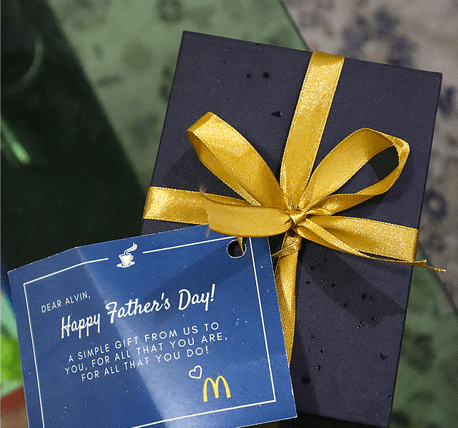 McDonald's Father's Day 2018 Gift