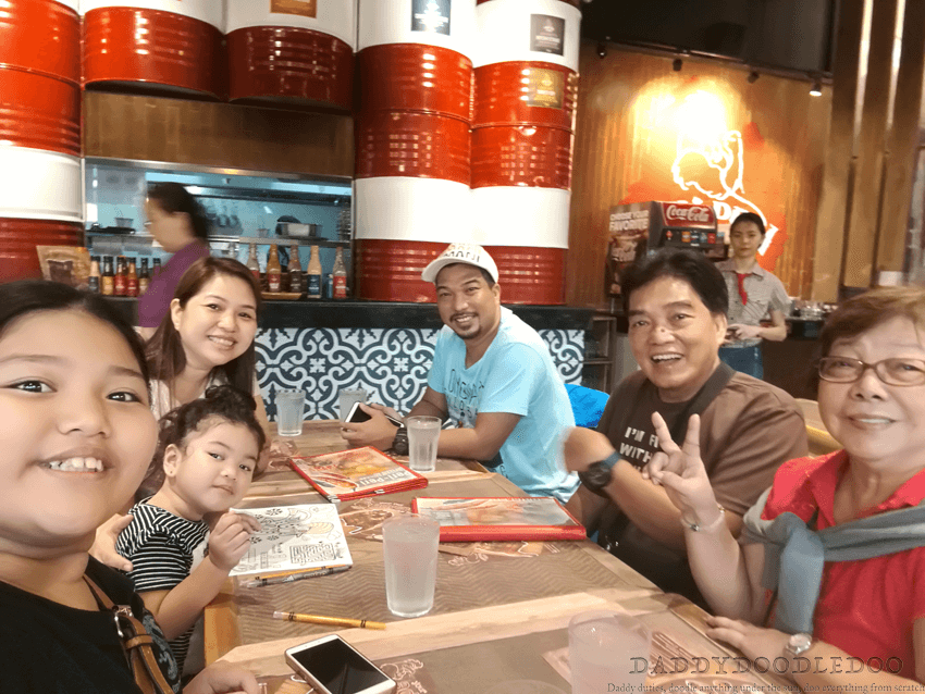 Peri-Peri Charcoal Chicken with the Family