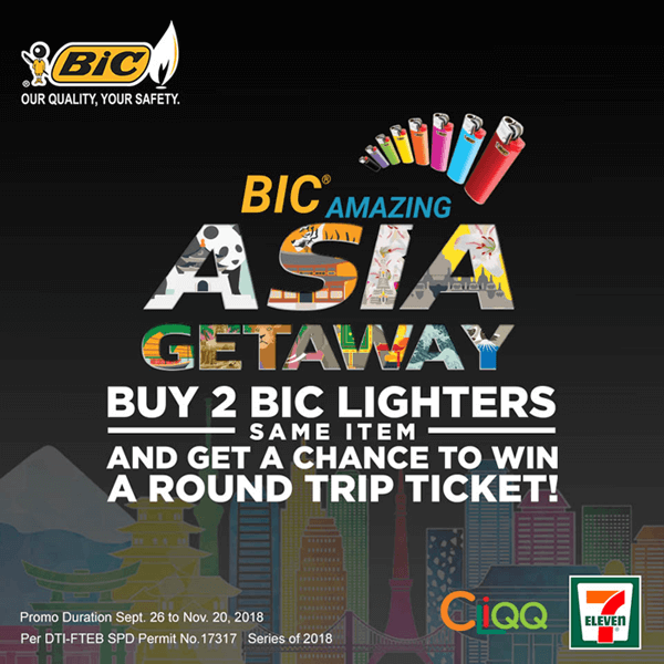 Join the BIC Amazing Asia Getaway Promo!